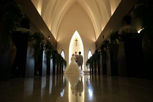 ヴァージンロードは、花嫁の一生