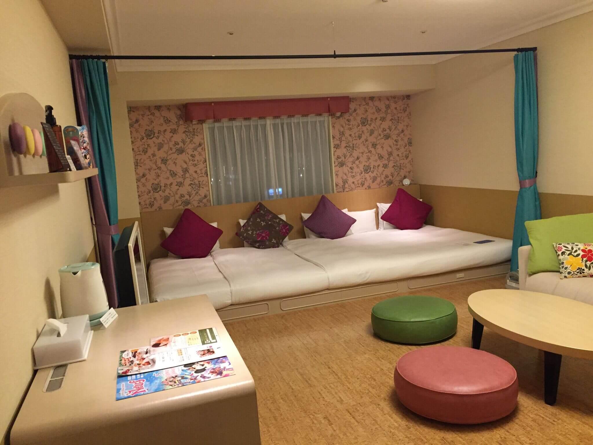 オリエンタルホテル東京の部屋に到着
